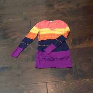 EUC gorgeous, vibrant maternity sweater!!